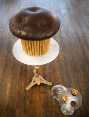 吃货的最爱创意蛋糕家具橡胶弹簧